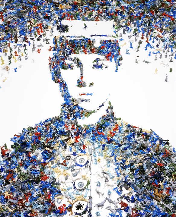Toy Soldier (Monades Series), 230 x 180 cm
