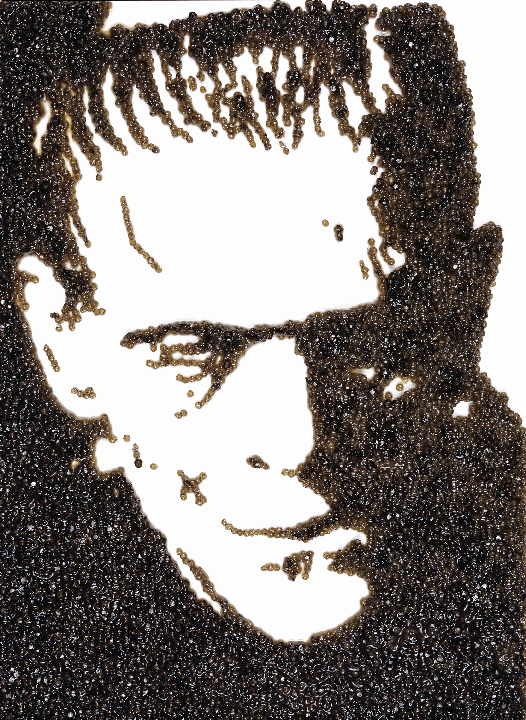 Frankenstein, (Caviar Monster), 150 x 120 cm