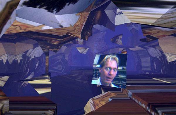 Le Tunnel sous l'Atlantique, installation interactive @de réalité virtuelle