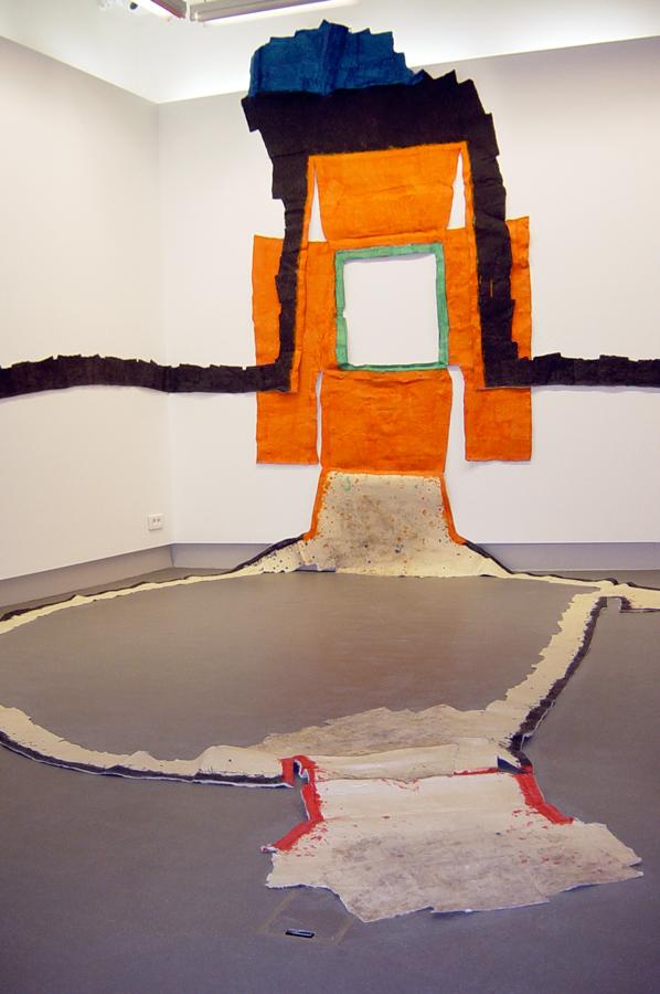 Max Charvolen|Vue d'exposition.|