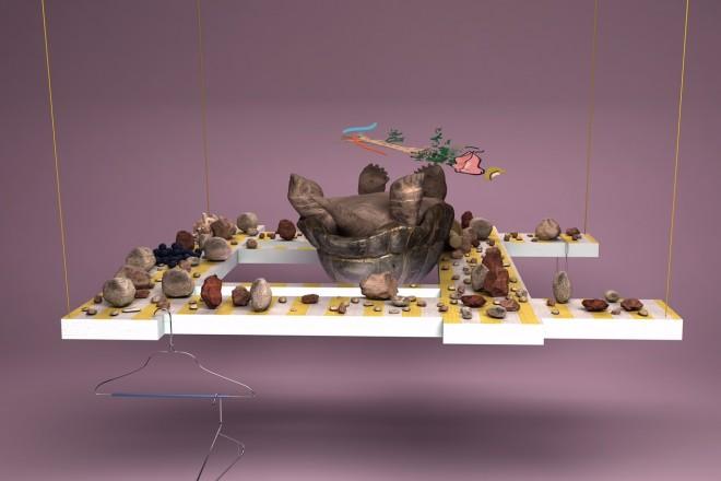 «Orchids, or a Hemispherical Bottom», Helen Marten, 2013