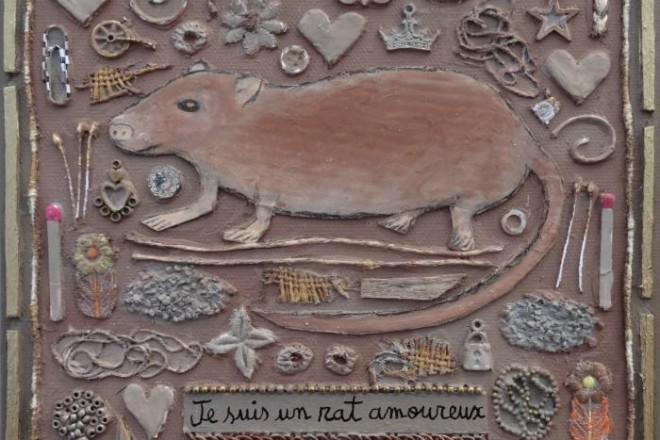 Toile de Marie Morel (détail)