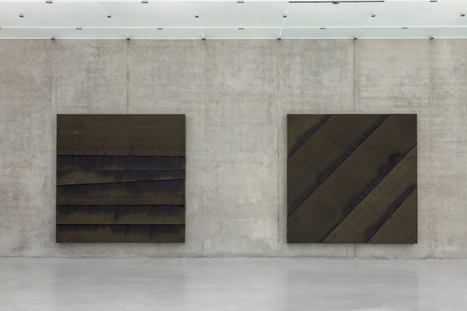 Vue de l'exposition « Black Archive », Theaster Gates, 2016