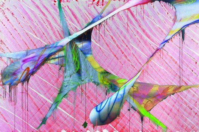 <i>Sans Titre</i>, Katharina Grosse, 2009.