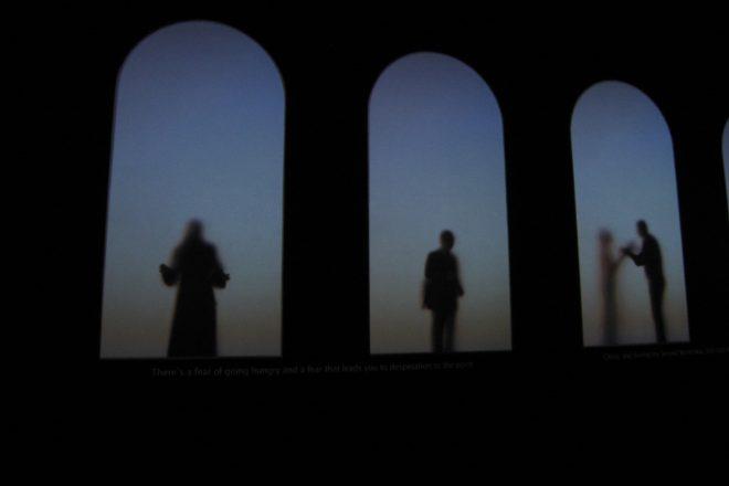 « Guests », Krzysztof Wodiczko, 2011<br><br>