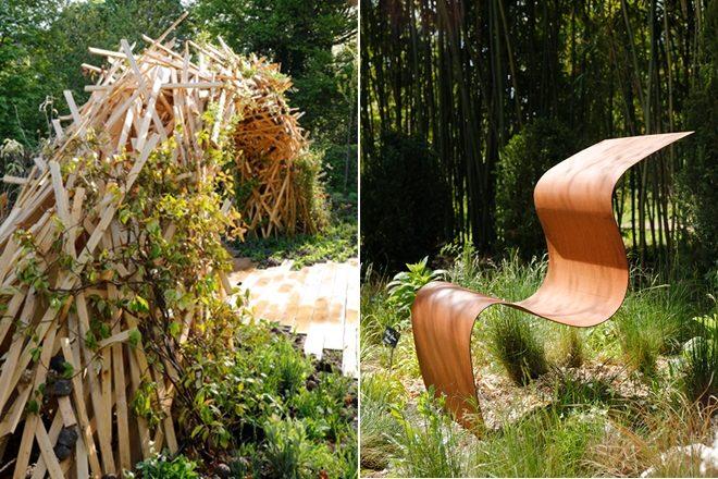 De gauche à droite : « Explosive nature » et « Nous irons tous au jardin »<br><br>