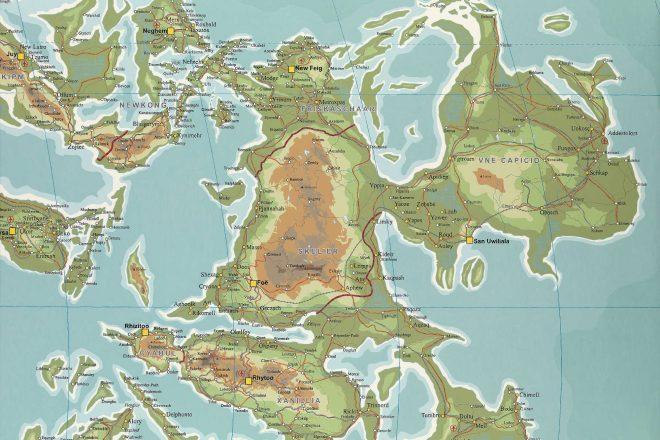 «Atlas #5», Wim Delvoye, 2004