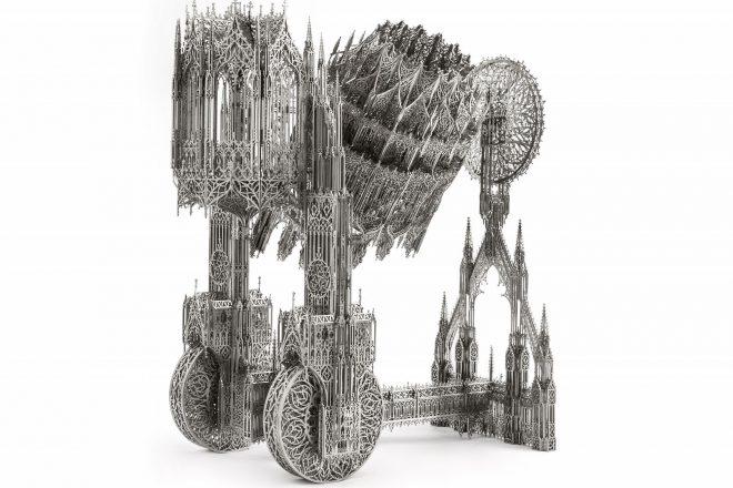 «Concrete Mixer», Wim Delvoye, 2012