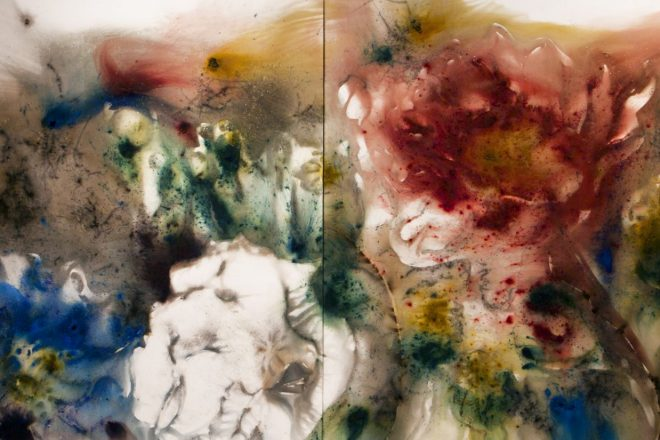 «Poppy Series Hallucination N°1» (détail), Cai Guo-Qiang, 2015