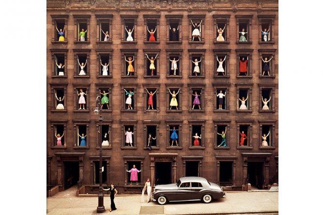 « Girls in the Windows », Ormond Gigli, 1960 (galerie GadCollection)