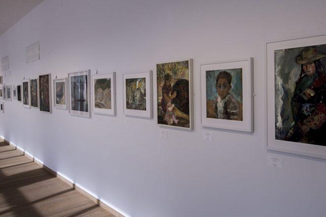 Vue de l'exposition «My Stories of Painting» au Bonnefanten Museum (2016), Cai Guo-Qiang