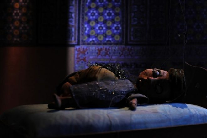 «Cabaret Crusades: The Path to Cairo» (arrêt sur image), Wael Shawky, 2012