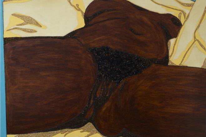 «Origin of the Universe I», Mickalene Thomas, 2012