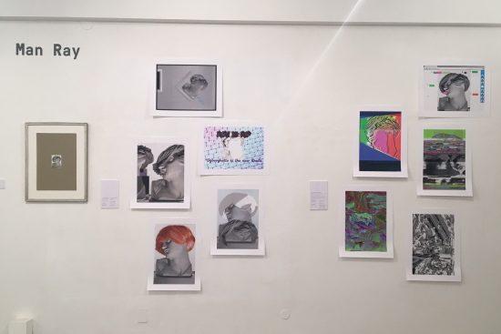 Vue de l'exposition « Dadaclub.online »