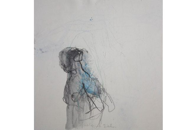 « Nu bleu », Catherine Seher