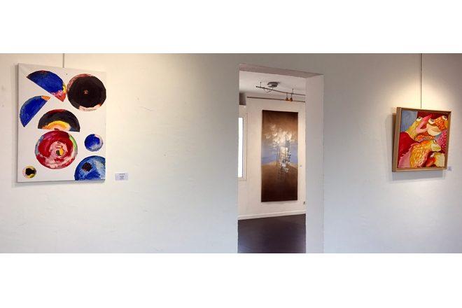 Vue de l'exposition « Casa Carrère 2007-2017 »
