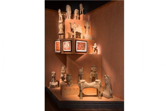 Sculptures d'Alikhan Abdollahi et dessins signés Noviadi Angkasapura