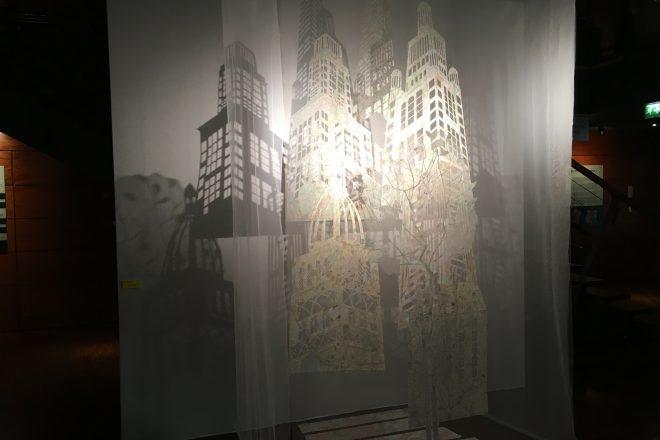 « Dans la ville, il y a l'arbre », Ariane de Briey, 2005