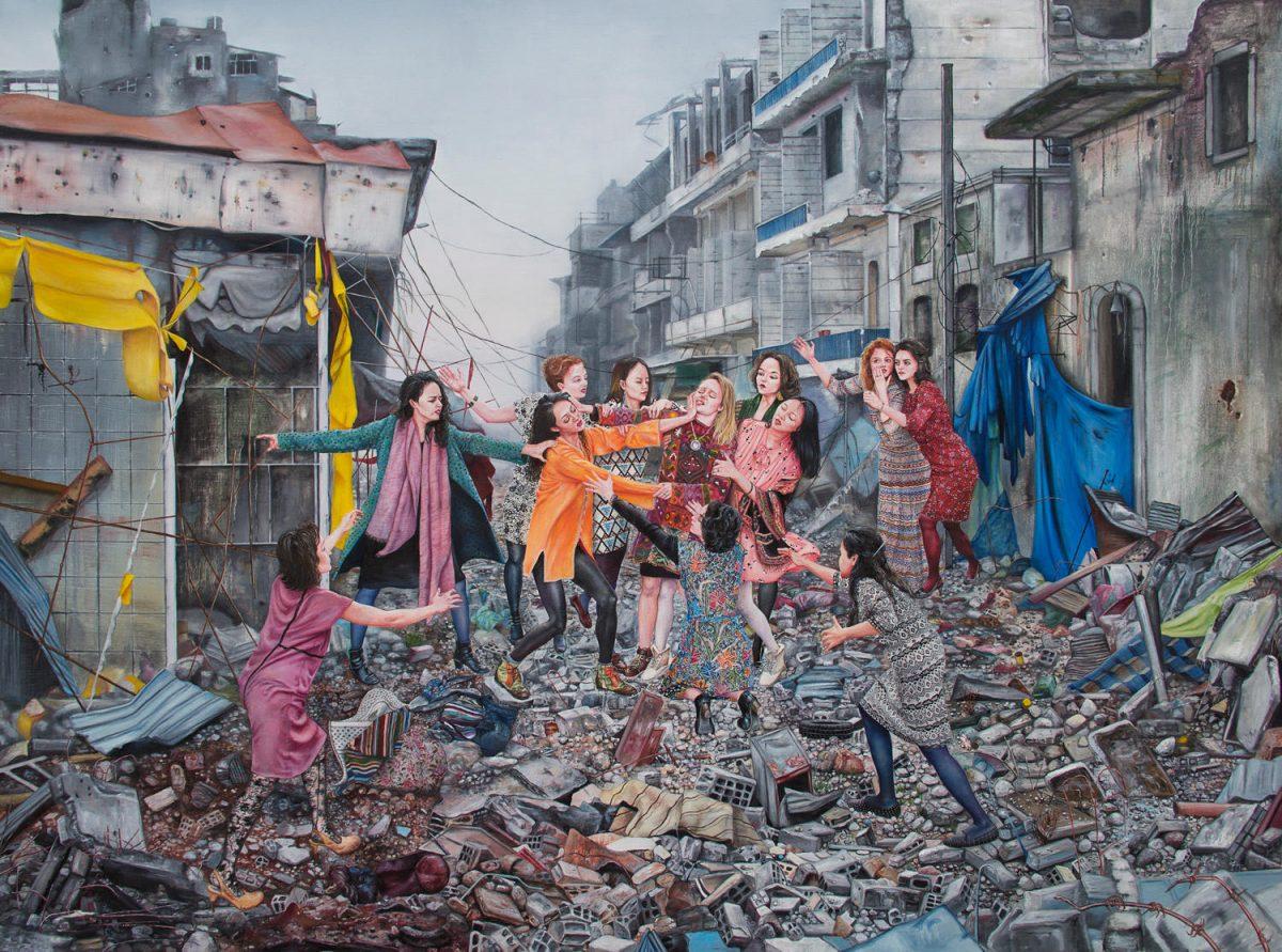 Peintre Contemporain Célèbre Vivant les utopies de nazanin pouyandeh et simon pasieka