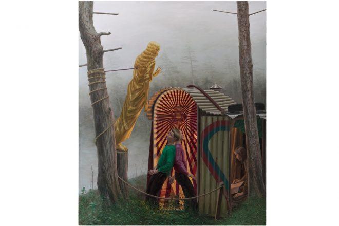 « Nebel », Simon Pasieka, 2014