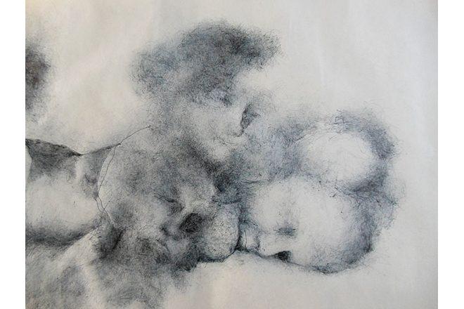 «Parchemin 3» (détail), Véronique Pastor, 2017