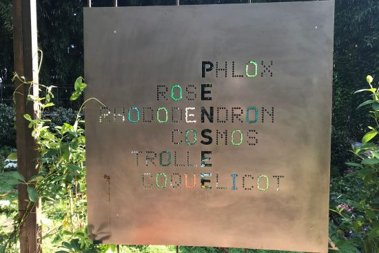 «Le jardin des voyelles», par l'OULIPO