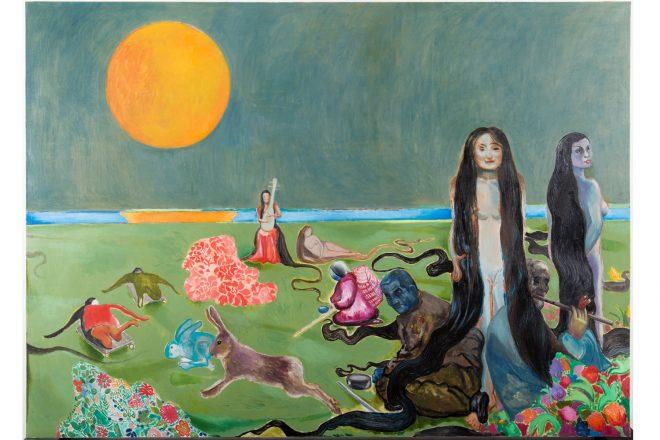 «Spring River in the Flower Moon Night 1», Duan Jianyu, 2017