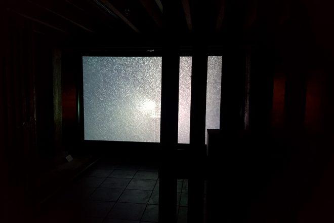 «La neige derrière les barreaux – Prison», Ali Kazma