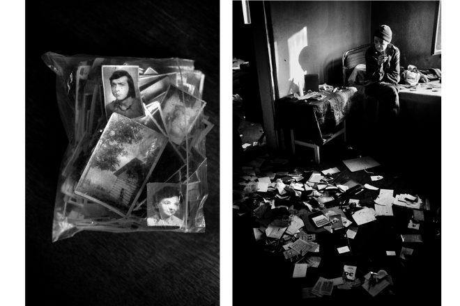 De gauche à droite: extraits de la série «Ewa & Piotr», Lorenzo Castore