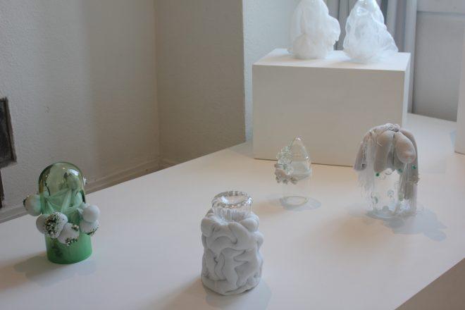 « Chimères », installation « Souplesse », par l'Ecole supérieure de design et métiers d'art d'Auvergne