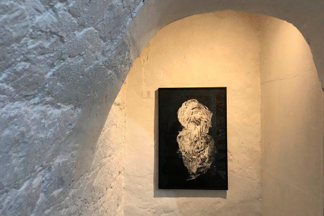 « Solitude », Alain Nahum, 2018-2019. Vue de l'exposition « D'une Image à l'Autre »