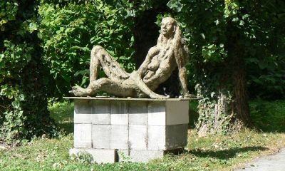 Sculpture signée Charles Gadenne