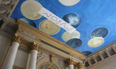 Plafond signé Cy Twombly