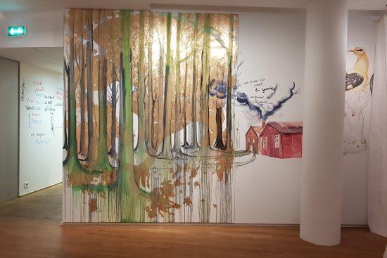 Vue de l'exposition « Coup de foudre », HyberTalec, 2019