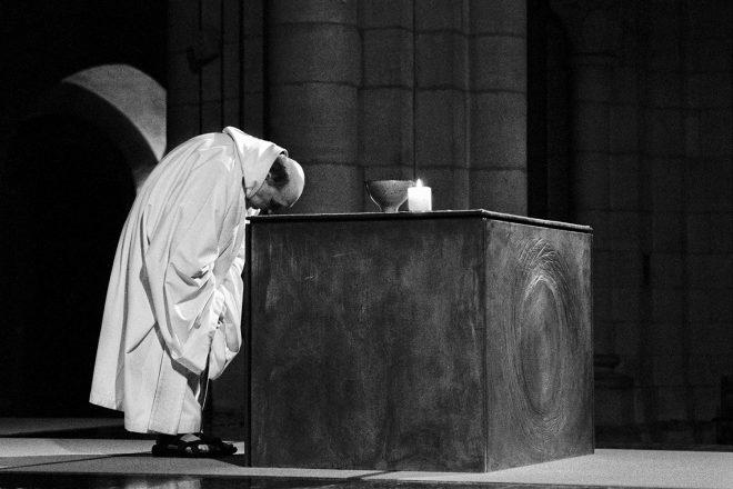Extrait du travail mené par Bernard Mottier à l'Abbaye d'Orval