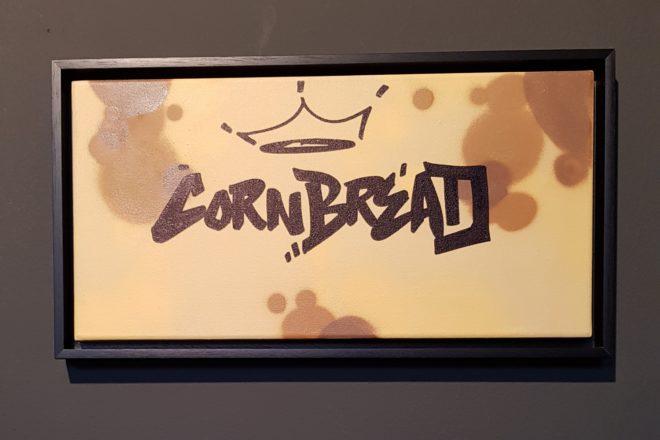 Toile signée Cornbread