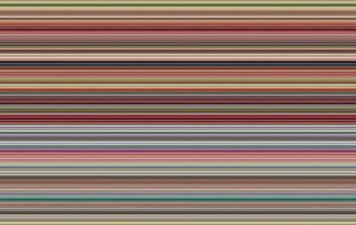Toile signée Gerhard Richter