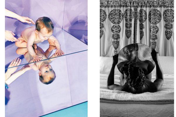 De gauche à droite : photographie signée Dan Cermak et «Bona. Charlottesville» (2015) par Zanele Muholi