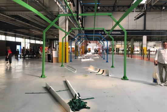 Vue de l'édition 2019 de la Biennale de Lyon