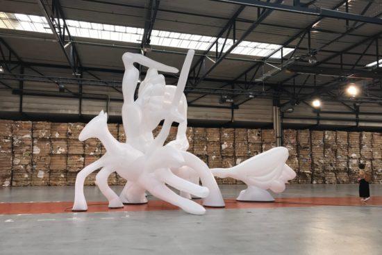 « La Mêlée », Léonard Martin, 2019