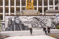L'hommage du street art à Bruegel
