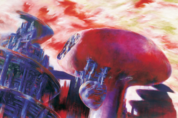 « La Ville sans fin : la vie confortable pour une population nombreuse », série «Some Cities», Eleanor Bond, 1997