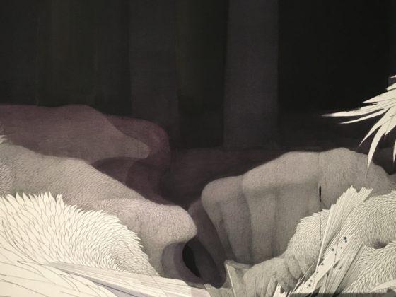 «Tissage» (détail), Min-Jung-Yeon, 2019