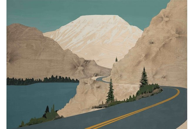 « Chagrin Falls (Tips for Mountain Driving) », Blaise Drummond, 2019