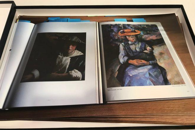 L'étude « Vermeer-Cézanne », Sarkis, 2019