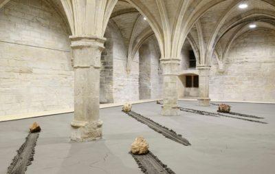 Installation signée Stéphane Thidet