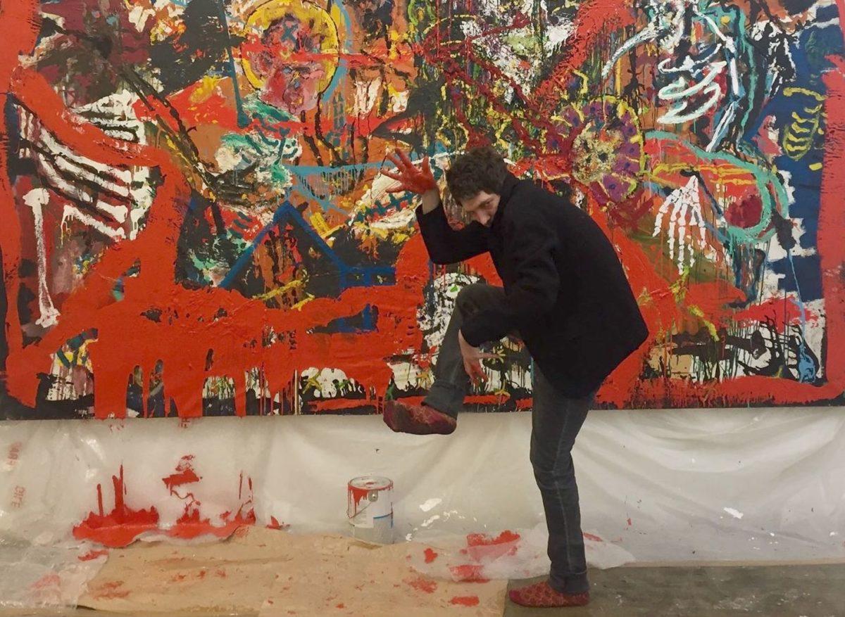 La Peinture Sous Haute Tension D Orsten Groom Artshebdomedias