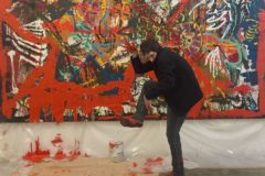 La peinture sous haute tension d'Orsten Groom