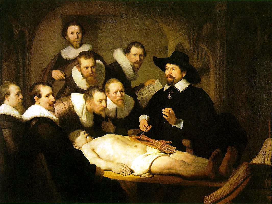 Rembrandt   La leçon d'anatomie  