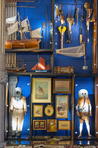 Détails, du Cabinet de curiosités de Mark Dion.